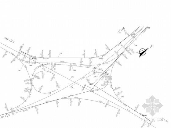 [湖北]27米宽斜腹板等高度支架现浇连续箱梁高架及匝道设计图560张附千页计算书