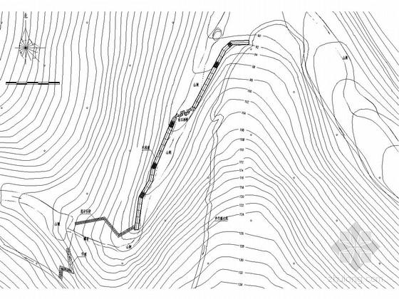 [广东]滨湖生态森林公园亲水步道景观设计施工图
