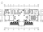 [江苏]全套豪华中式办公楼设计施工图(含效果图)