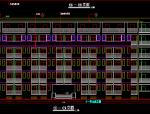 西南交通大学郫县新校区一期学生公寓1#、2#楼建筑施工图