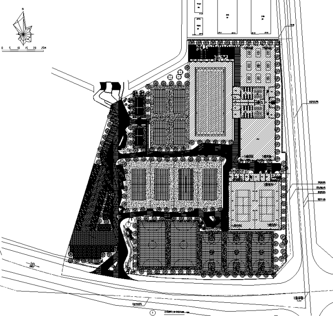 [重庆]生态多元化健康体育运动中心景观设计全套施工图(园建+植物+水电)