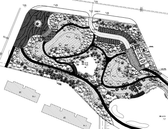 """[湖南]""""海绵城市""""环湖生态亲水休闲公园景观设计全套施工图(2017年11月最新资料)_1"""