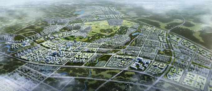 """[海南]""""产城融合""""生态海洋高新技术产业园区城市景观规划设计方案_1"""