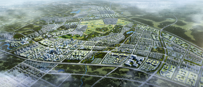 "IT产业园规划资料下载-[海南]""产城融合""生态海洋高新技术产业园区城市景观规划设计方案"