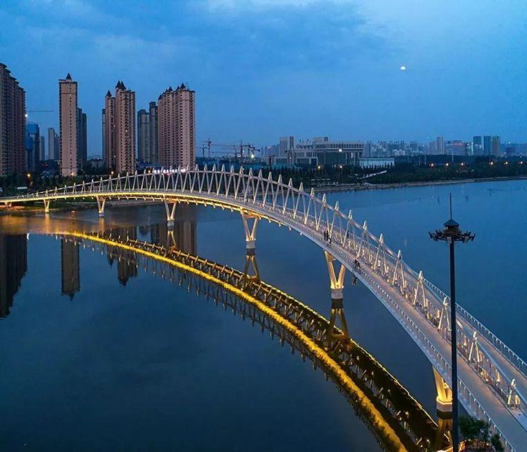 """太原""""汾河之冠""""人行景观桥,尽展结构技艺之美!_20"""