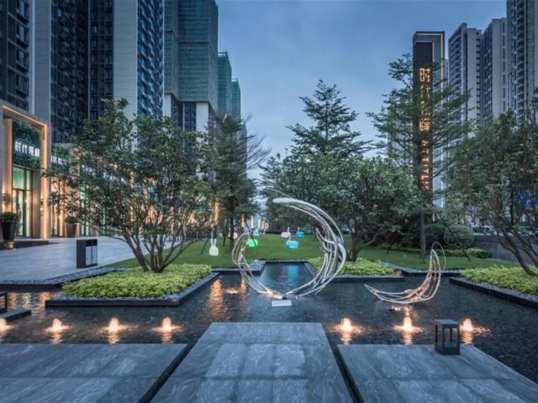 佛山时代领峰住宅景观