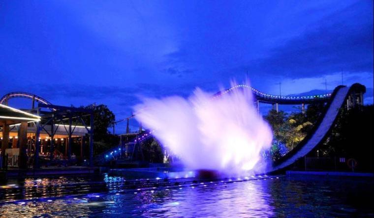 广州灯光设计:长隆主题公园灯光亮化照明