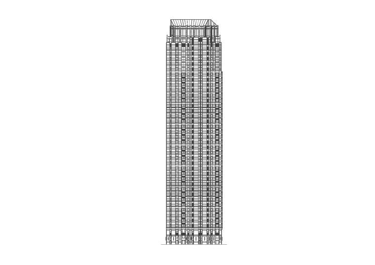 [天津]金融街居住区规划设计方案文本+施工图(CAD+JPG)