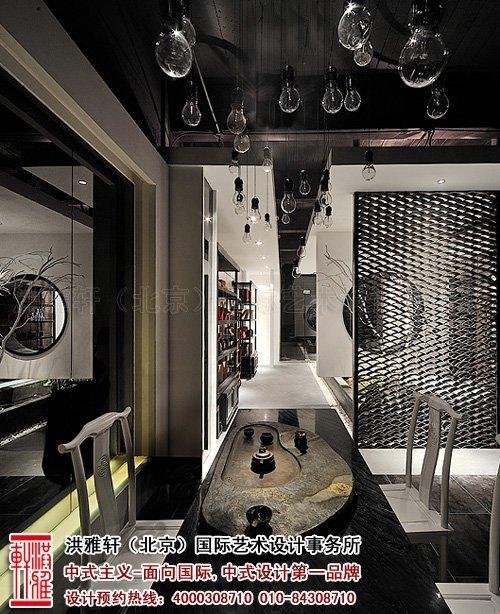 新中式茶楼装修设计,体现沁静优雅的人生乐趣_6