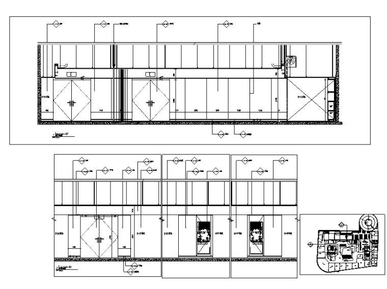 荷兰UNStudio商场中心设计施工图丨附效果图+机电设计+标识设计-立面