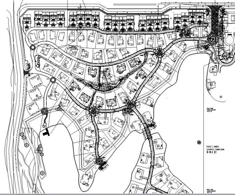 [重庆]龙湖香樟林居住区景观设计全套施工图