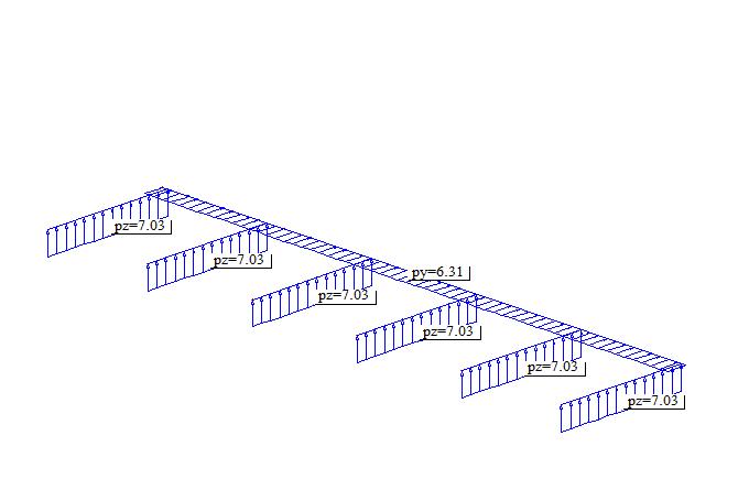 钢结构雨棚设计计算书(word,8页)