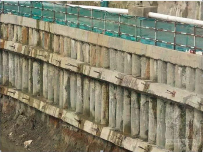 桩锚与复合土钉墙进行深基坑支护,设计、施工、监测都要注意啥_5