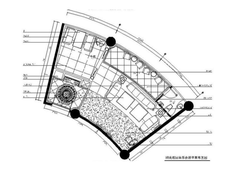 [福州]欧式奢华音乐会所室内设计施工图(含效果图)