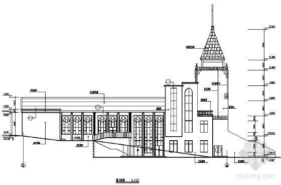某四层基督教会建筑施工图-2