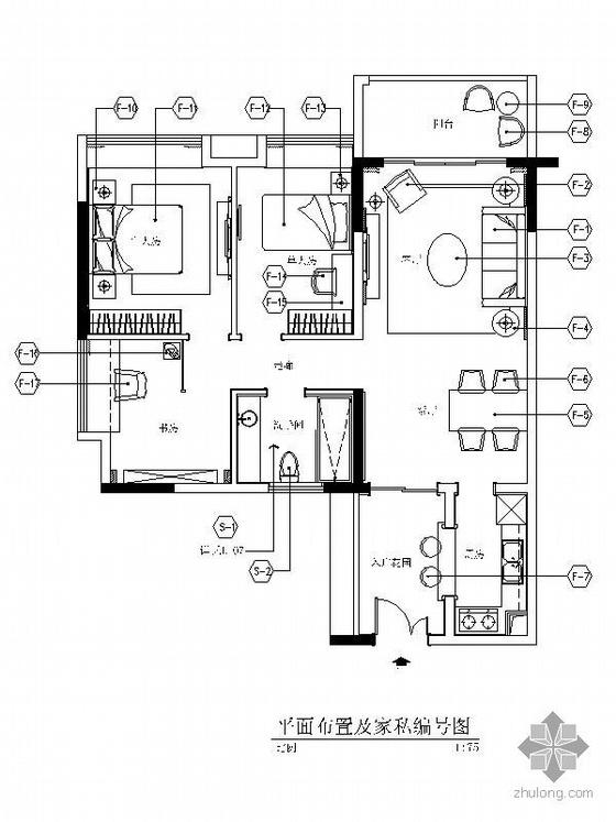 [广州]新欧式三居装修图