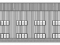 某单层钢结构厂房建筑施工图有材料和说明(04级土木工程)