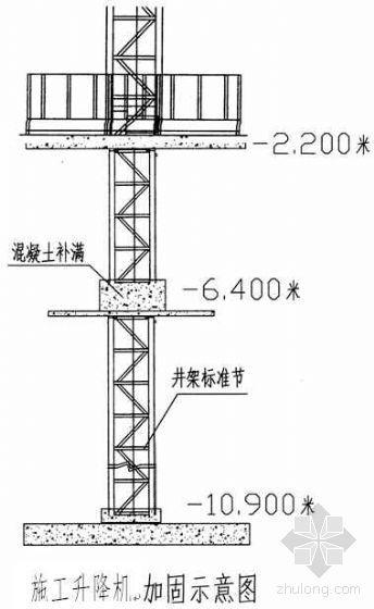 青岛某住宅小区工程施工升降机施工方案