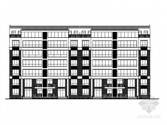 [郑州]某六层复式住宅楼建筑施工图