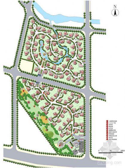 [北京]住宅小区一期工程景观方案设计
