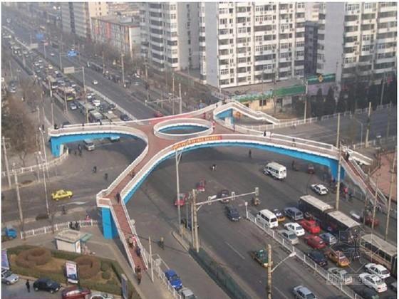 人行过街天桥钢结构施工方案21页
