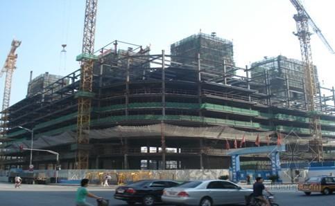 [北京]高层大厦核心筒液压爬模施工工法