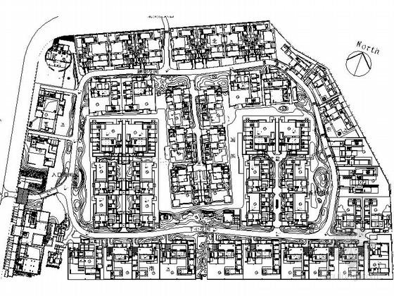端景观亭施工图资料下载-[上海]高档别墅景观设计施工图