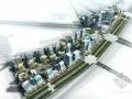[湖南]现代城市购物广场建筑设计方案文本(城市形象名片)