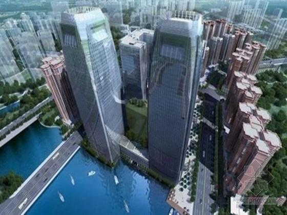 [贵州]40层钢筋混凝土框架核心筒结构综合大楼结构施工图(含屋顶花园,地下五层)