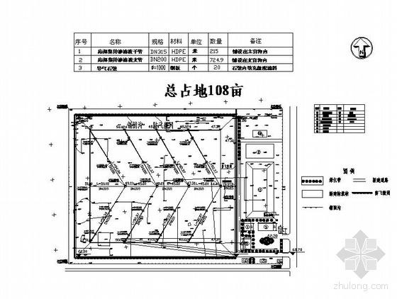 邯郸某县生活卫生垃圾填埋场工程初步设计