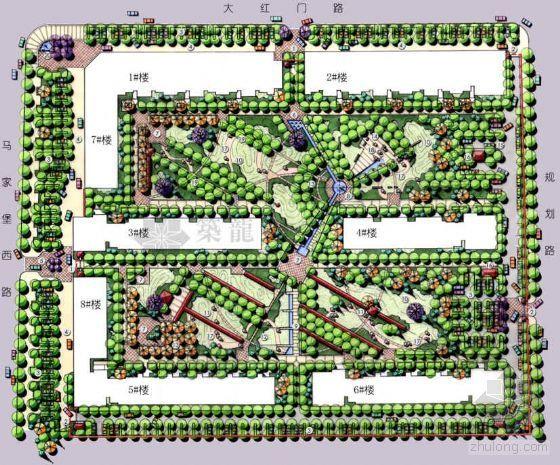 北京某小区环境景观设计方案