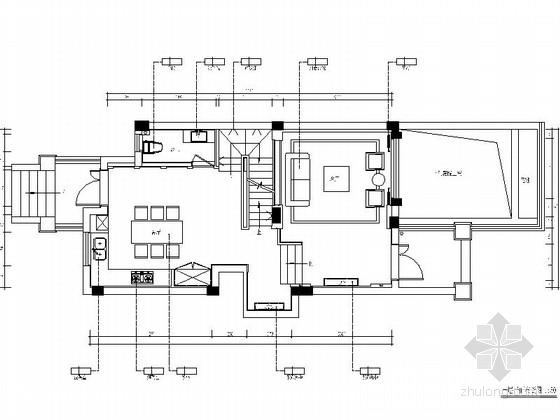 [深圳]华丽雅致新中式五层别墅样板房室内设计施工图(含高清效果图及效果图模型)