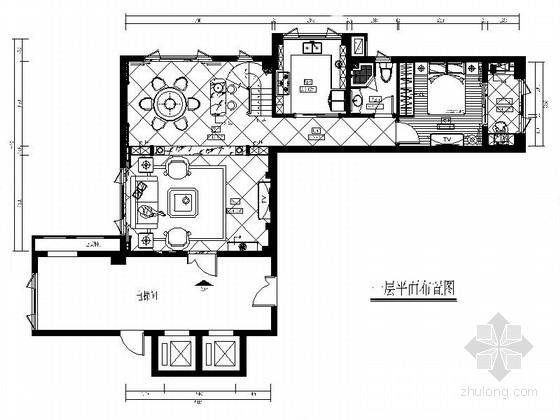 精品双层洋房别墅装修设计CAD施工图(含效果)
