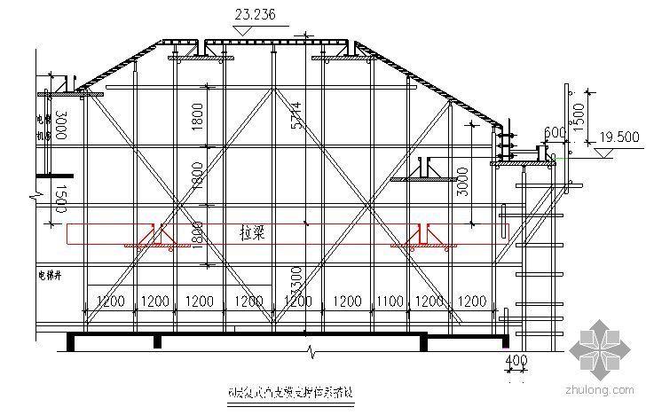 广东某多层住宅斜屋面高支模施工方案