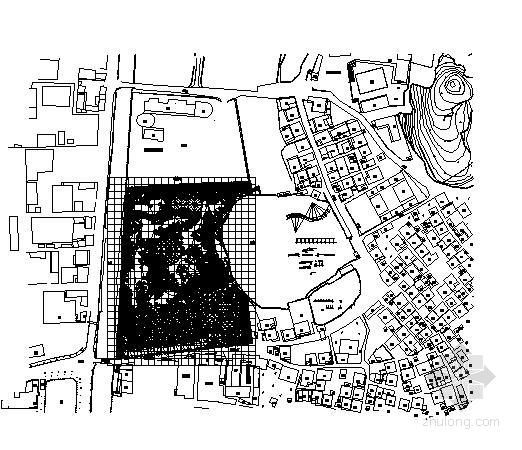 [佛山]城市公园园林景观工程施工图