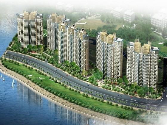 [广东]现代风格高层住宅区规划及单体方案文本(含CAD)