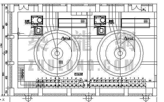 发电机二次屏柜布置图