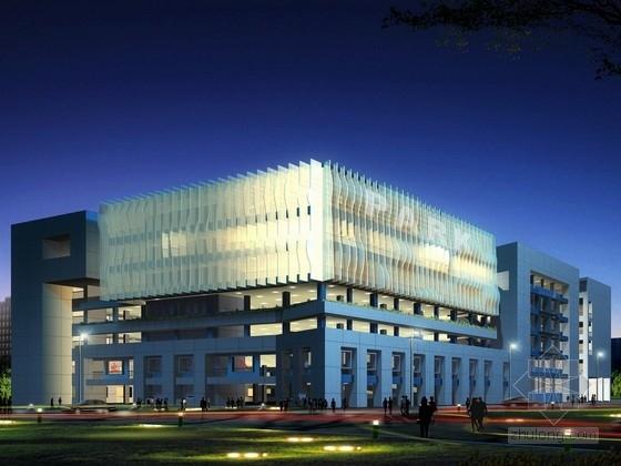 [广东]5层企业办公楼建筑方案文本