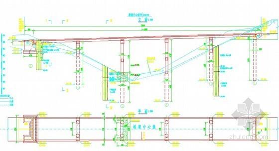 公路预应力桥上部结构CAD设计图纸(二级公路)
