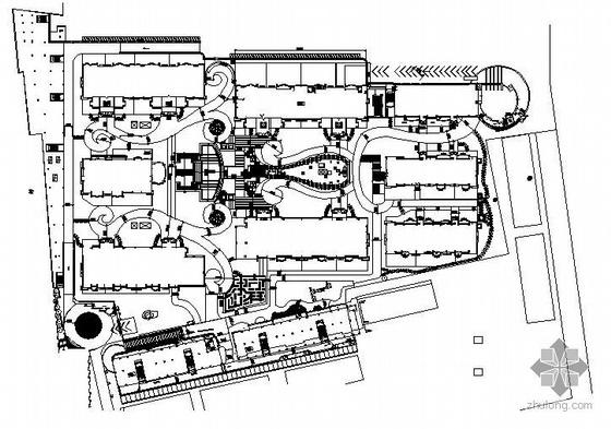 小区的整套施工图