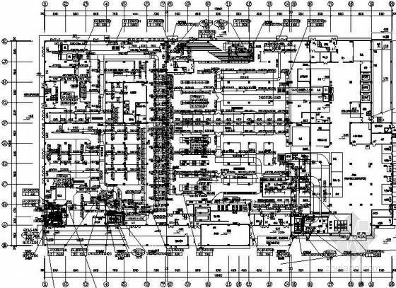 [上海]大型商场空调通风全套设计施工图纸