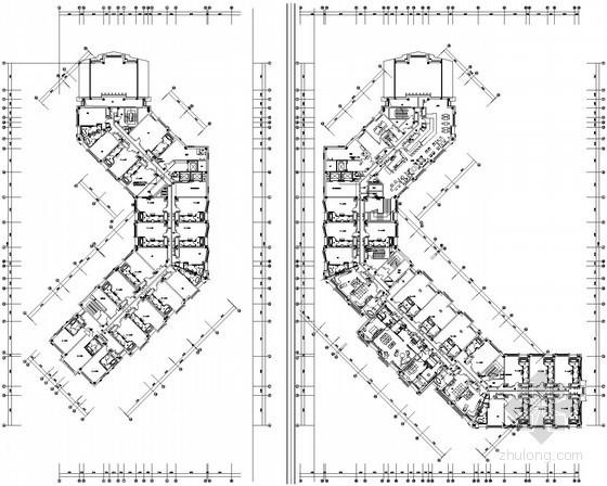 [长春]大型酒店项目全套电气施工图纸112张