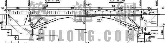 现浇钢筋混凝土拱桥结构节点详图设计