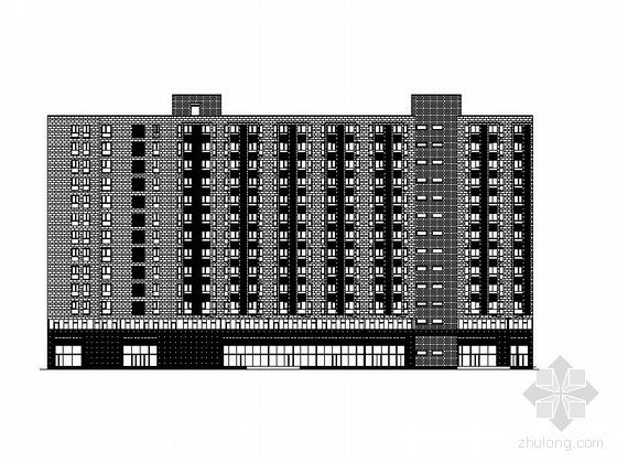 [北京]某十二层综合楼建筑施工图