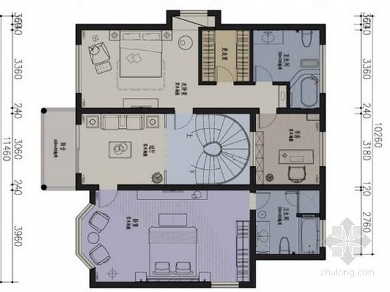 [苏州]名师设计精品中式别墅室内设计方案