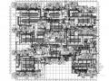 [河北]小区人防地下室设计施工图(5万平米)