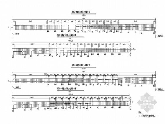 单索面预应力斜拉桥施工图(108张)