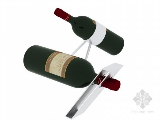 装饰红酒3D模型下载