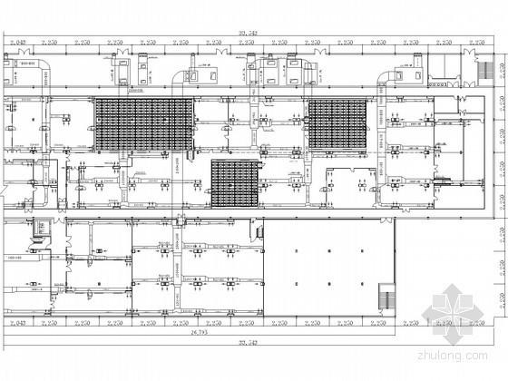 某电子厂房净化空调设计图纸