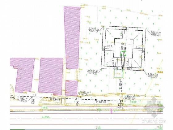 [河北]南水北调配套工程截流导流施工平面布置图